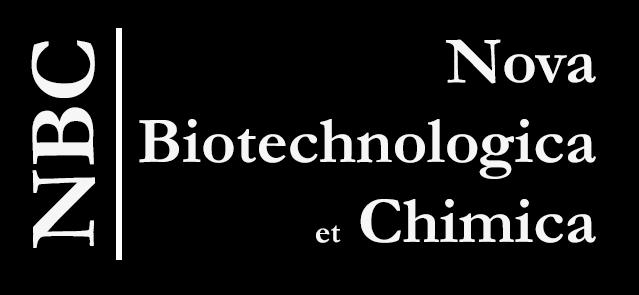 Nova Biotechnologica et Chimica